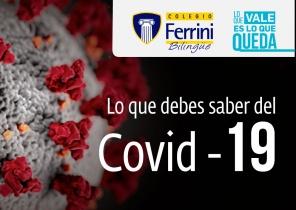 Lo que debes saber sobre el Covid 19