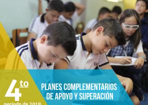 Plan Complementario de Apoyo y Superación cuarto período