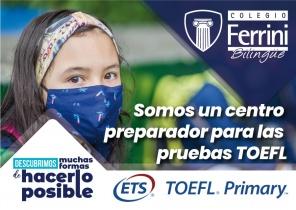 Somos un centro preparador de las pruebas TOEFL