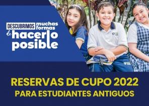 Separación de cupos colegio ferrini 2022